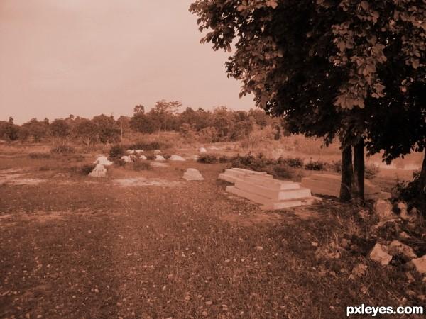 A Rural Grave-yard