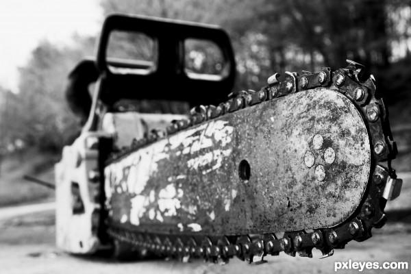 Chainsaw!