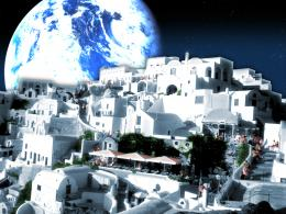 Greek Space Colony