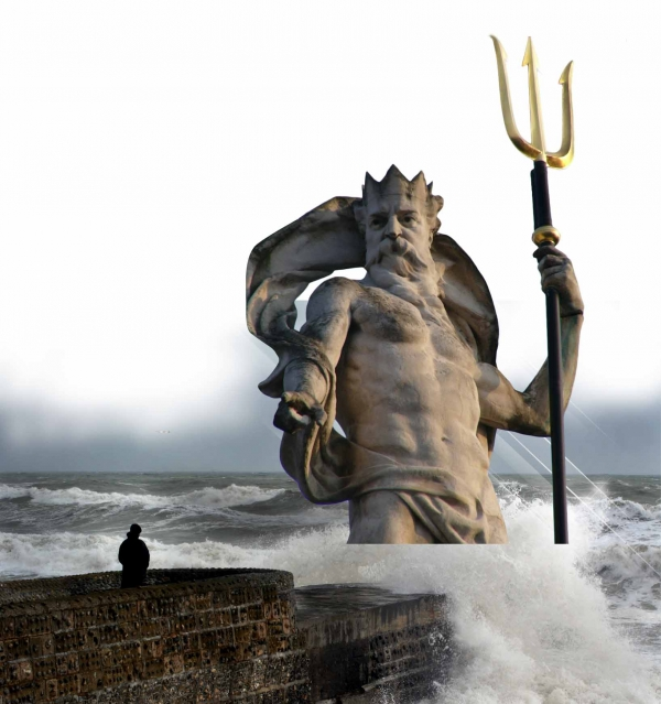 Photoshop Guide The Making Of Poseidon God Of The Sea