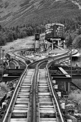 Cog Train Mt Washington