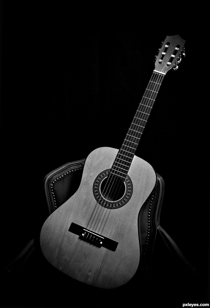 My guitar photoshop picture)