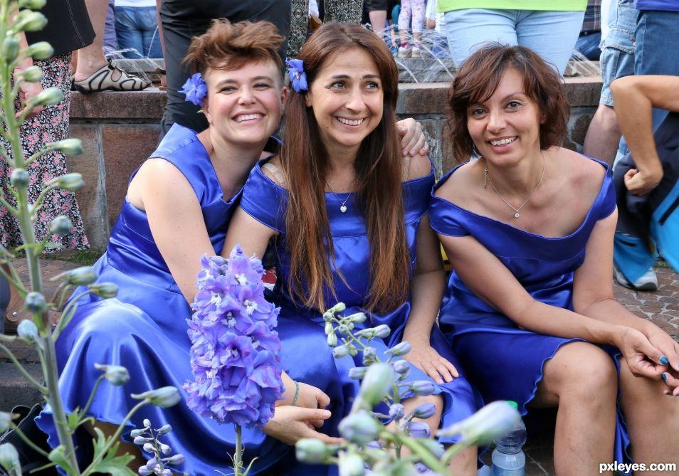 blue singers