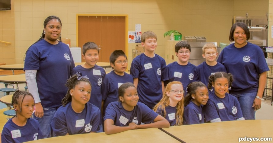middle school county math team