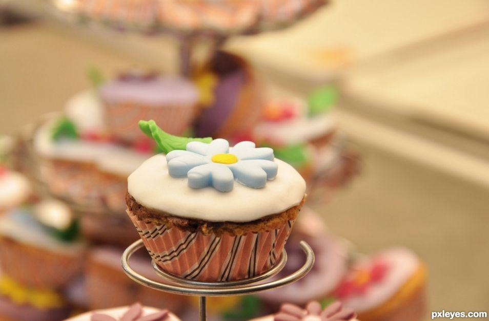 Sweet mini cake