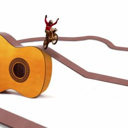 Guitar Race Picture
