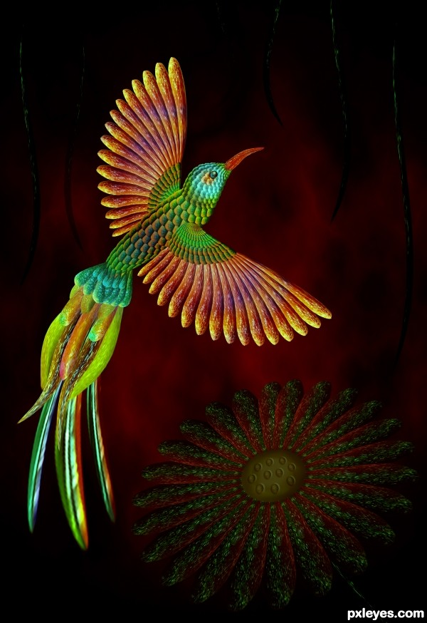 Creation of Bird: Final Result