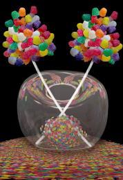 Gumdrop Flower Vase