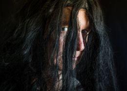 Long Beautiful Creepy Hair
