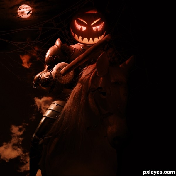 helloween photoshop picture