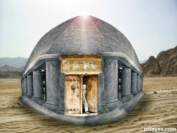 A Dome At Desert