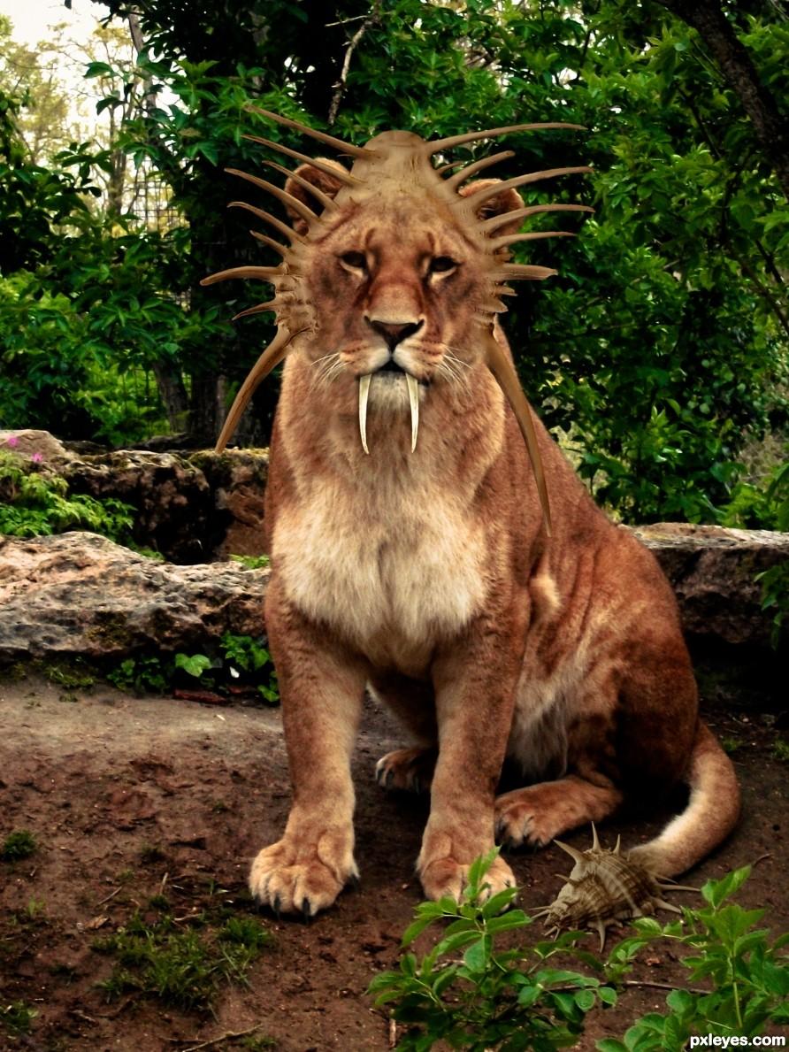 Saber Head Lion