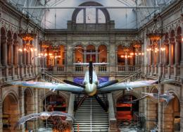 Suspended Spitfire Picture