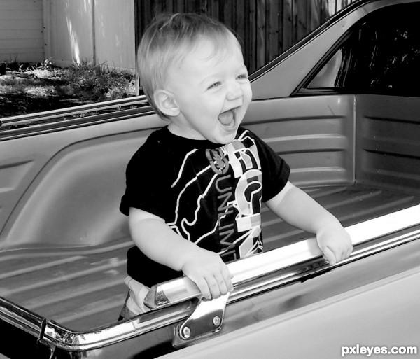 In Pops Car