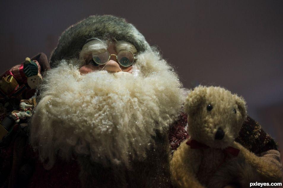 Santa and Teddy