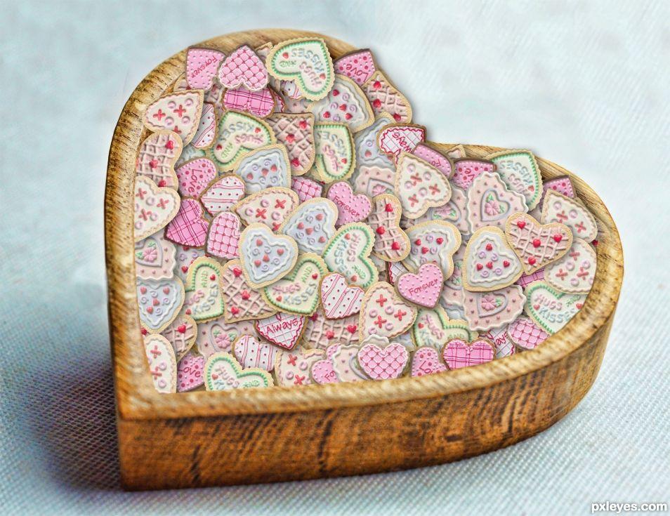 Bowl of Love Cookies