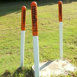 Warningpoles