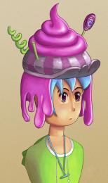 Pinky Poey Hat