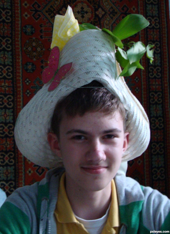 cheerful hat