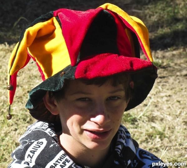 Clown hat for a clown