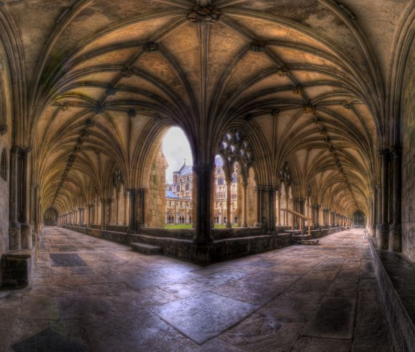 Norwich Cathedral. photoshop picture
