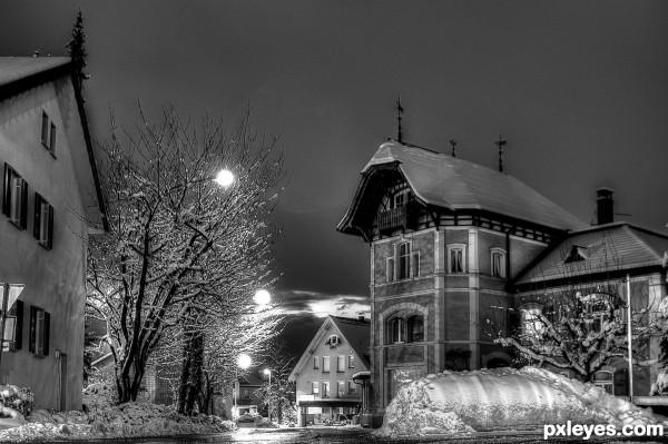 Hohenems by Night