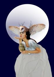 Owl Goddess Picture