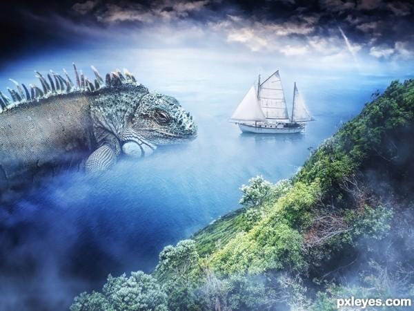 The Lake Monster Encounter