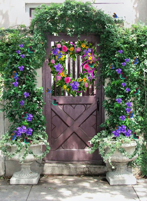 Photoshop Guide The Making Of Garden Gate Pxleyes Com