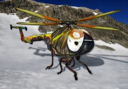 Dipteracopter