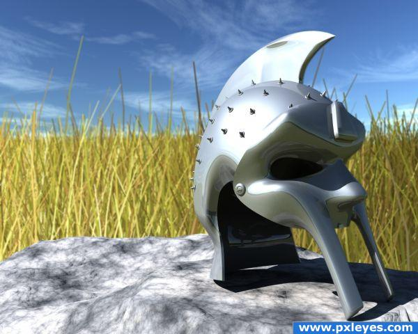 Creation of Maximus Decimus Helmet: Final Result