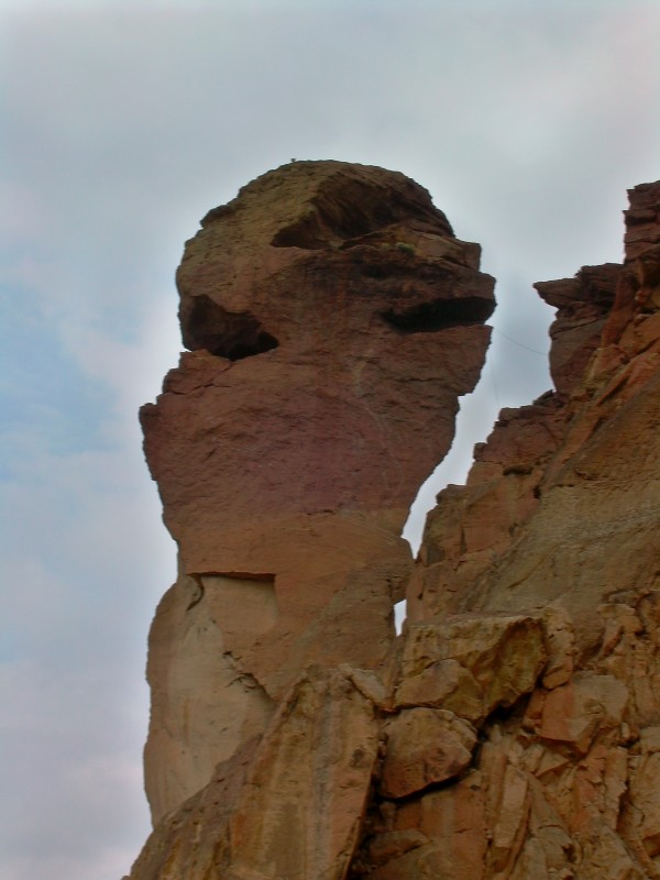Monkey Face Rock in OR