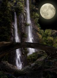MoonlightOverTheWaterfalls