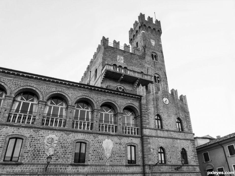 Tavoleto castle