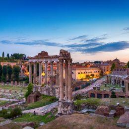 RomanForumatsunset