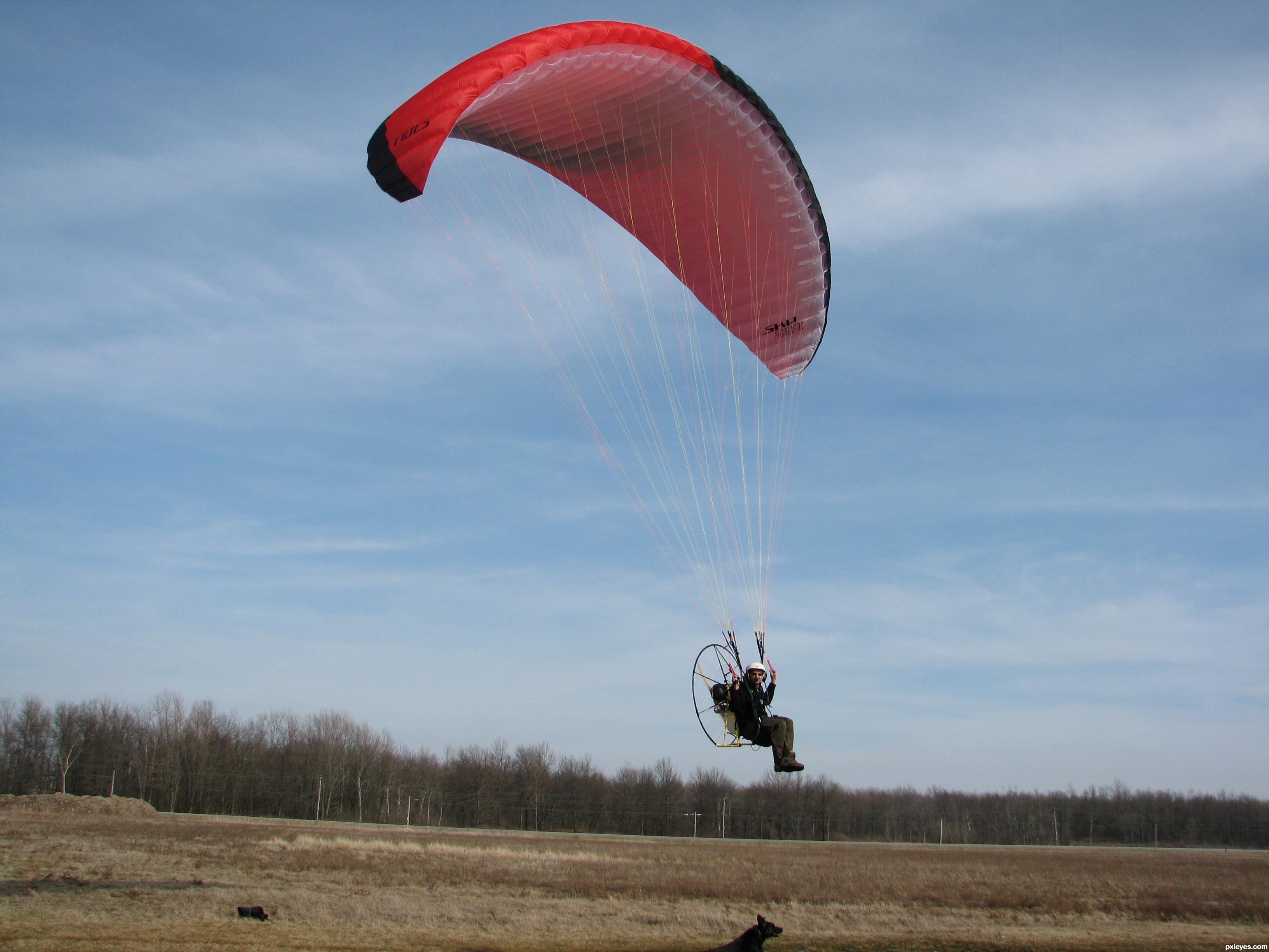 Paragliding - Bing images