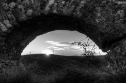 SunsetThroughHole