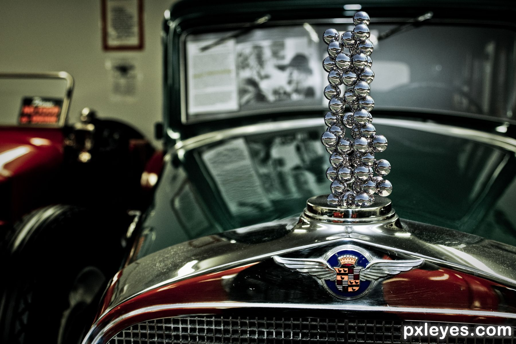 Cool hood ornaments - A Car With Balls Created By Drivenslush
