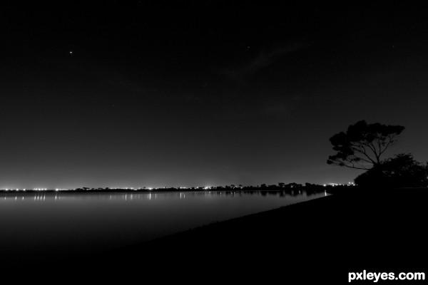Cherry Lake at Night