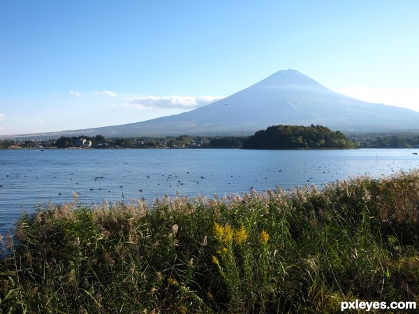 The beauty of Fuji