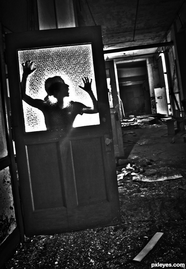 Haunted Halls photoshop picture)