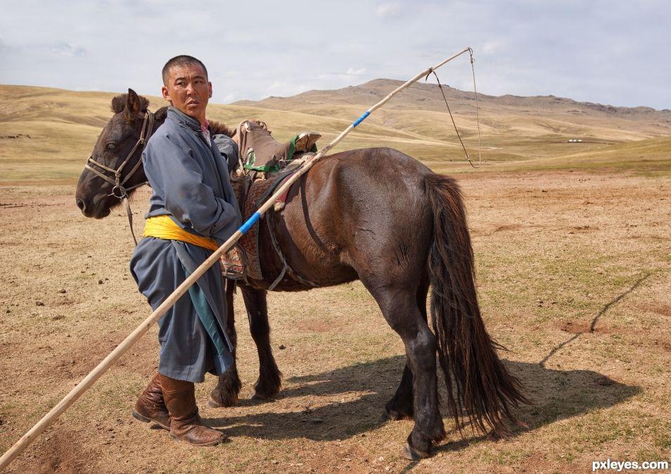 Horseman of Outer Mongolia