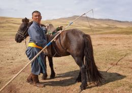 Horseman of Outer Mongolia