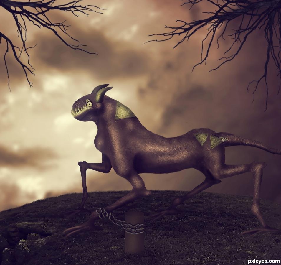 Alien Horsey