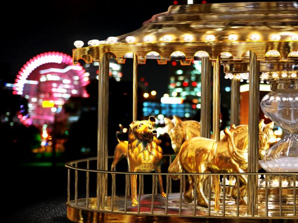Golden carousel