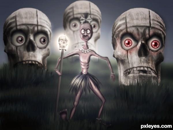 Magic skulls