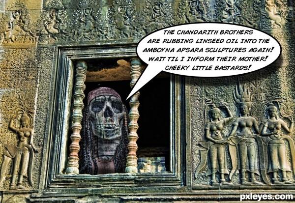 Rasta Zombie in Cambodia