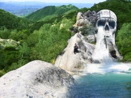 skull waterfall Picture