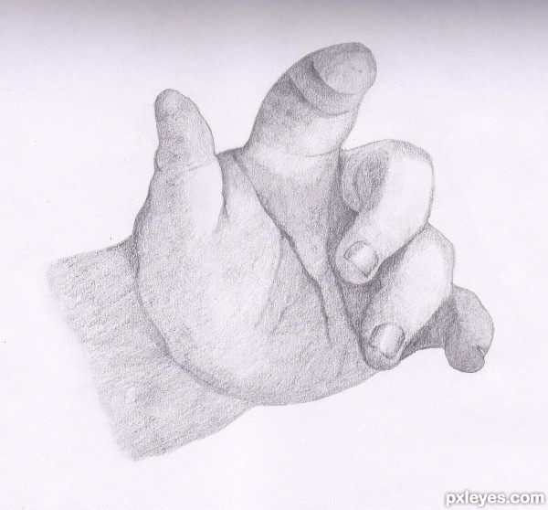 Creation of Baby Hand: Final Result