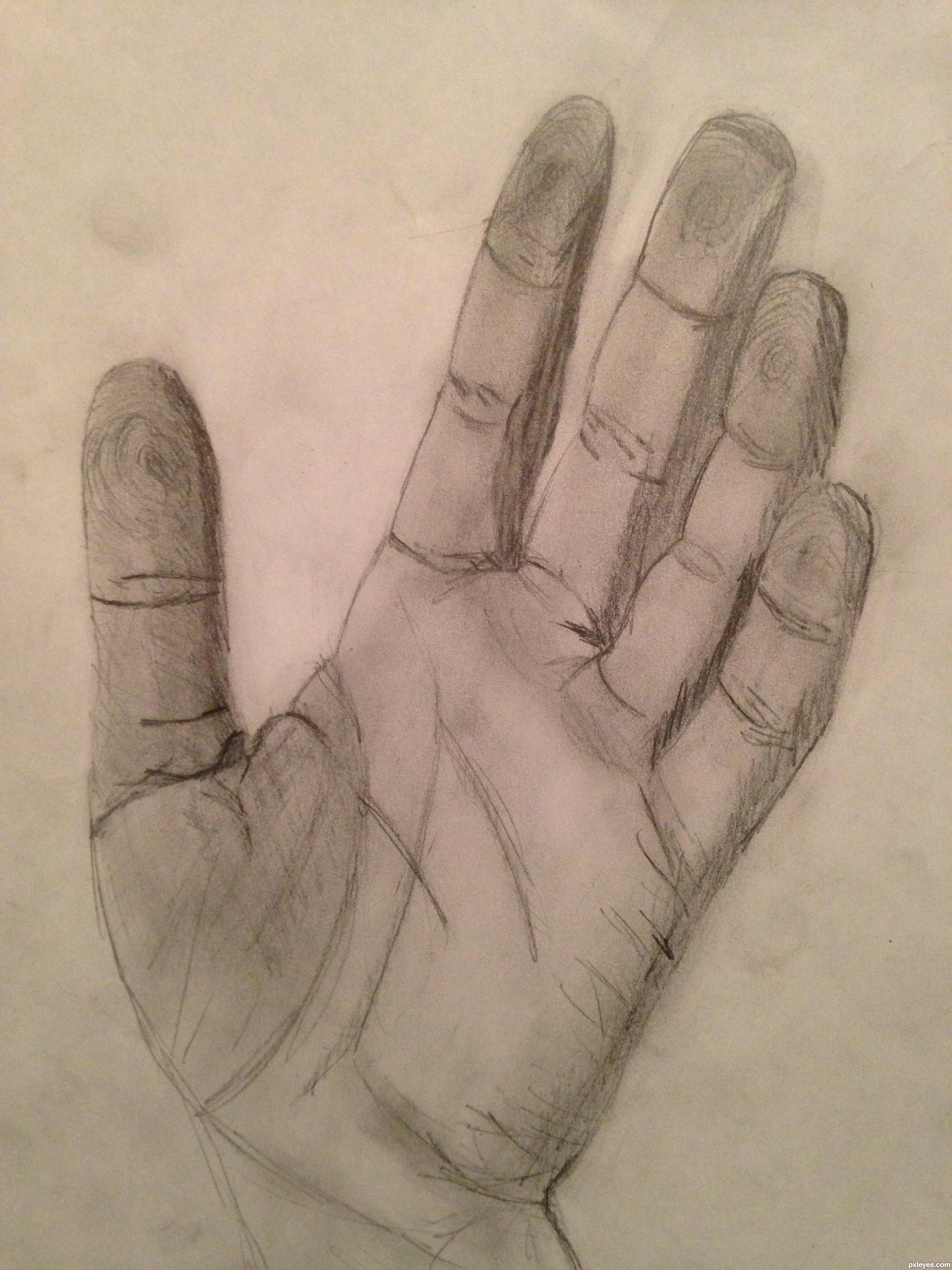 high five picture by agnieszka for human hands drawing contest